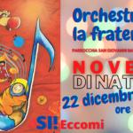 La NOVENA di Natale per arrivare a ORCHESTRARE LA FRATERNITÀ': oggi suoniamo il SI, come SI! Eccomi