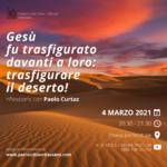 Incontro quaresimale di giovedì 4 marzo: riflessione con Paolo Curtaz